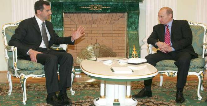 الأسد يلتقي بوتن في موسكو لتدارس الوضع في سوريا