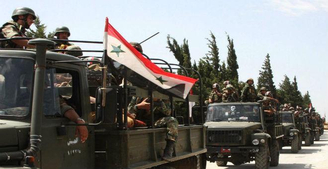 قوات الأسد تستعد لمعركة حلب ضد المعارضة السورية وواشطن تحذر