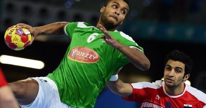 كرة اليد: الجزائر ومصر والمغرب في مجموعة