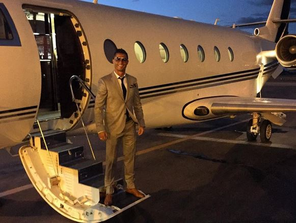 صورة. عشق المغرب يقود رونالدو إلى مدينة أكادير