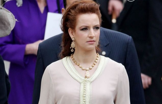 الأميرة لالة سلمى ثامن أجمل سيدة أولى في العالم