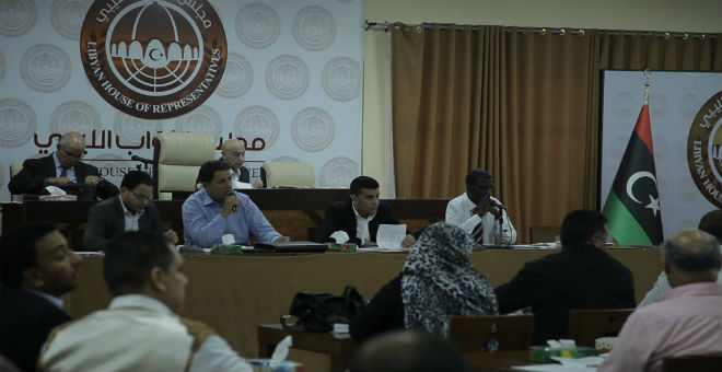 مجلس النواب يعلن رفضه لتشكيلة حكومة الوفاق الليبية