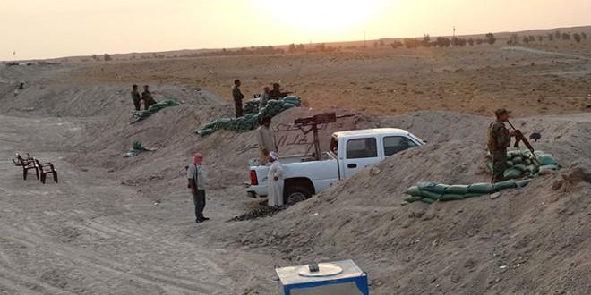 مقاتلون من أبناء العشائر العراقية ضد داعش