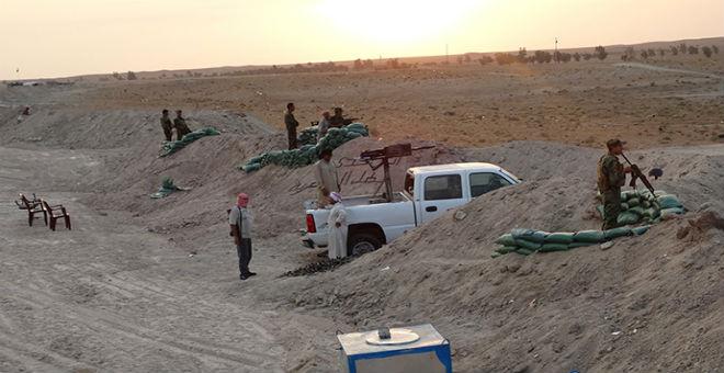 عشيرة البونمر العراقية تنفذ عملية أمنية ضد