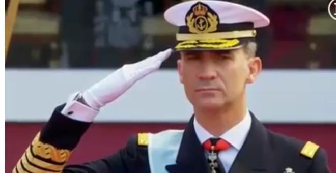 اسبانيا تحتفل بعيدها الوطني ويساريون  يتهمونها بالابادة الجماعية !