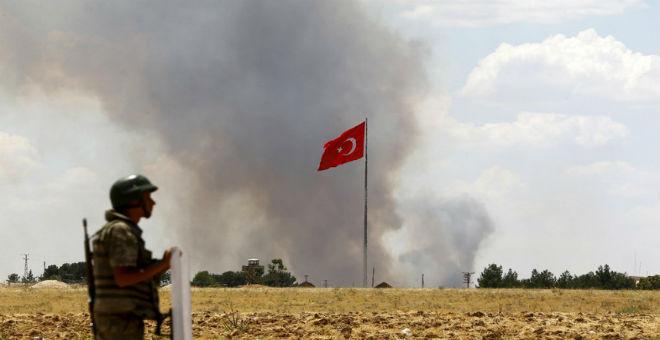 مواجهات بين الجيش التركي ومتمردين أكراد تخلف 24 قتيلا