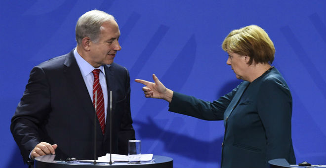 ميركل ردا على تصريحات نتانياهو: ألمانيا تتحمل مسؤولية الهولوكوست