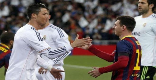 ميسي يتفوق على رونالدو في عدد الأهداف في 2015