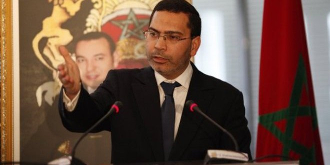 وزير الاتصال مصطفى الخلفي