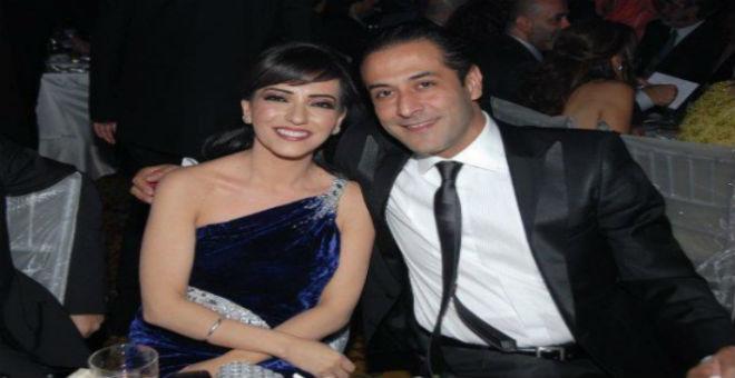 عبد المنعم عمايري ينفصل عن أمل عرفة بعد 14 عاما من الزواج