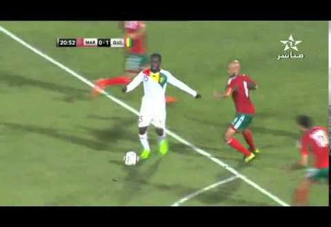المنتخب المغربي 1 – 1 المنتخب الغيني