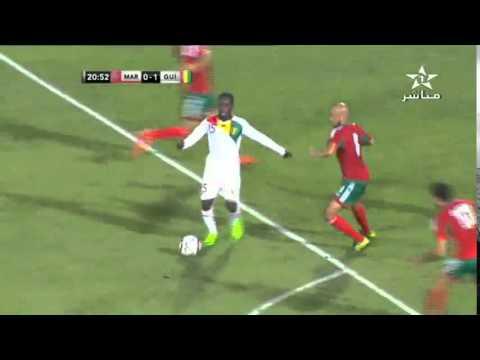 تعادل المنتخب المغربي 1 - 1 المنتخب الغيني