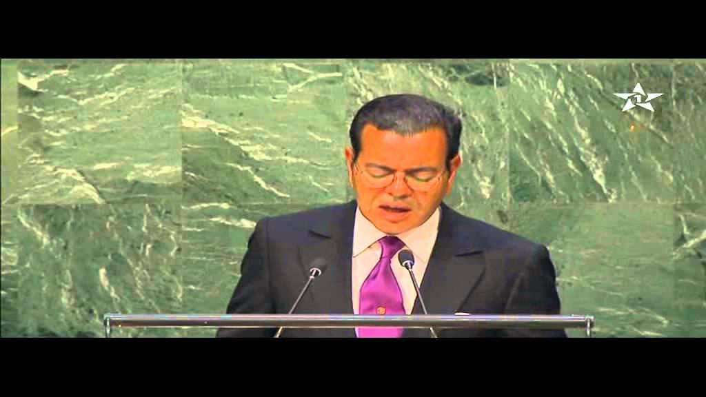 مولاي رشيد يلقي نص الخطاب الملكي بمقر الأمم المتحدة