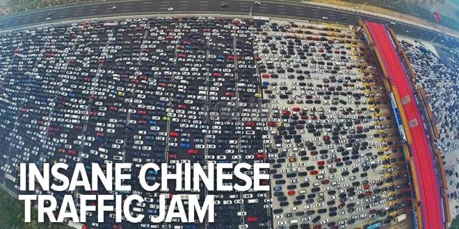 لن تصدق.. أكبر ازدحام مروري في العالم