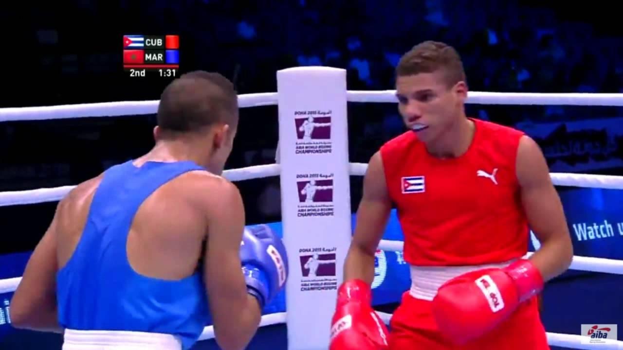 إقصاء الملاكم المغربي أشرف خروبي من بطولة العالم