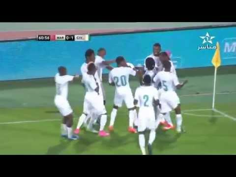 هدف منتخب ساحل العاج