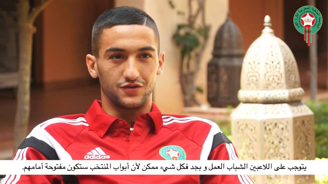زياش يعبر عن حبه للمغاربة وللمنتخب المغربي