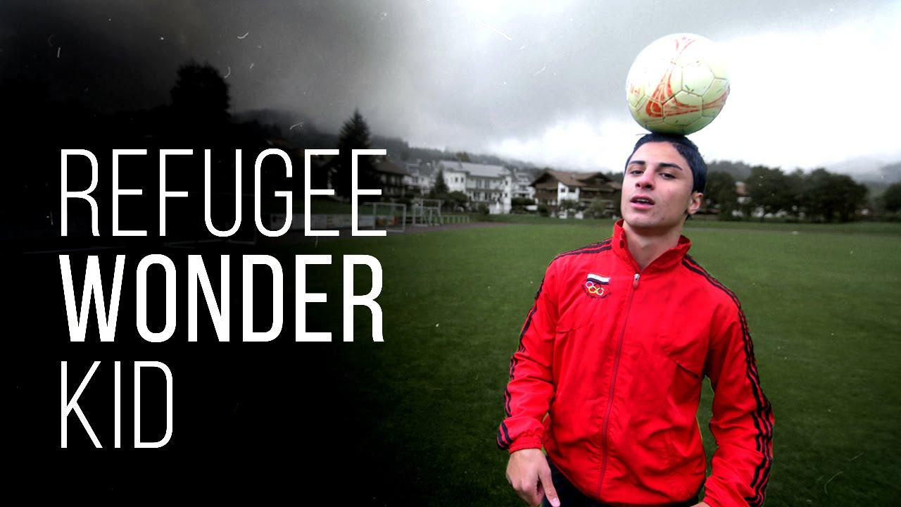 لاعب سوري نجا من الموت يعجب الألمان