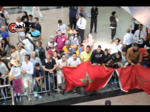 بالفيديو: هكذا استقبل المغاربة البطل محمد ربيعي بعد التتويج