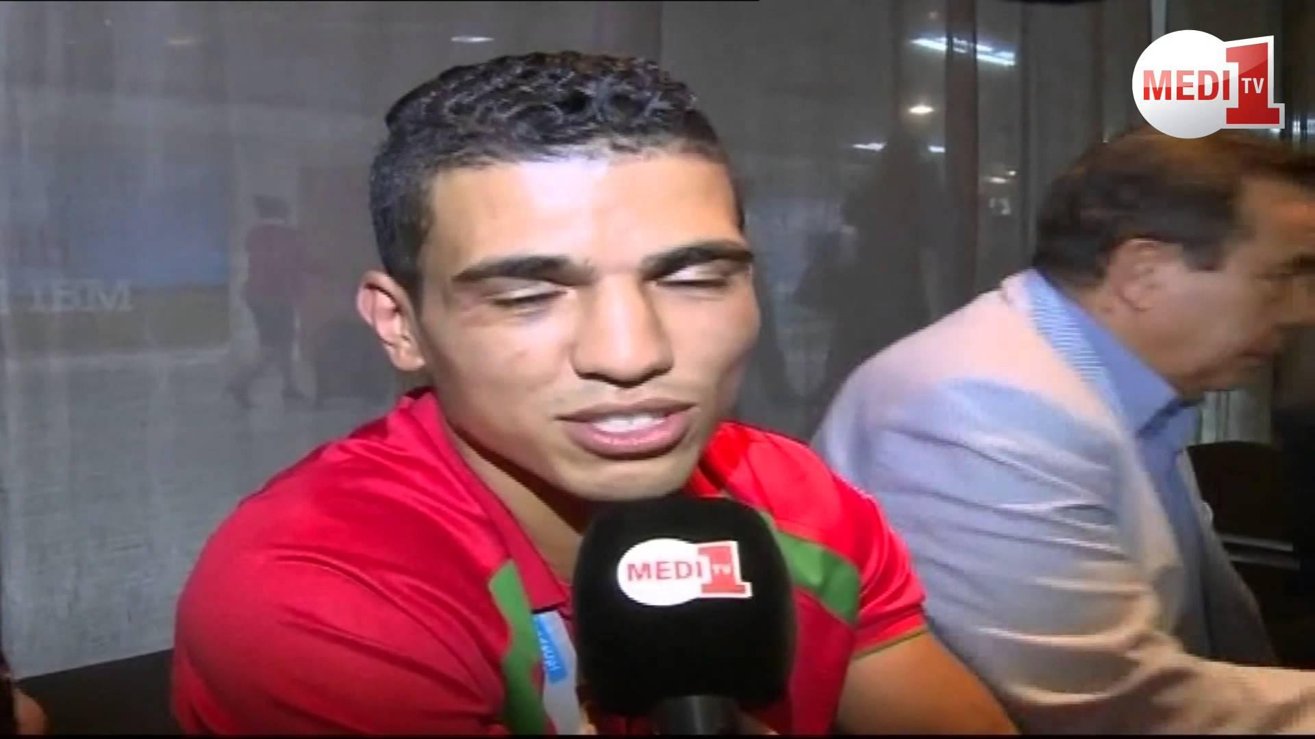 البطل العالمي محمد ربيعي يعترف بحبه لنادي الرجاء الرياضي
