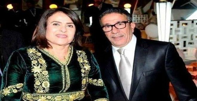 بالصورة...سعد الله عزيز و خديجة أسد في السبعينات