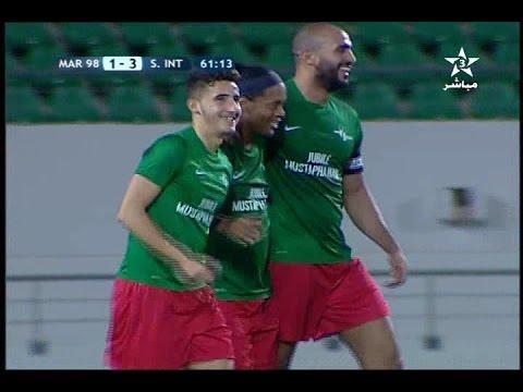 بالفيديو ملخص مباراة تكريم مصطفى حجي