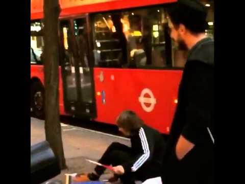 سعد المجرد في شوارع لندن