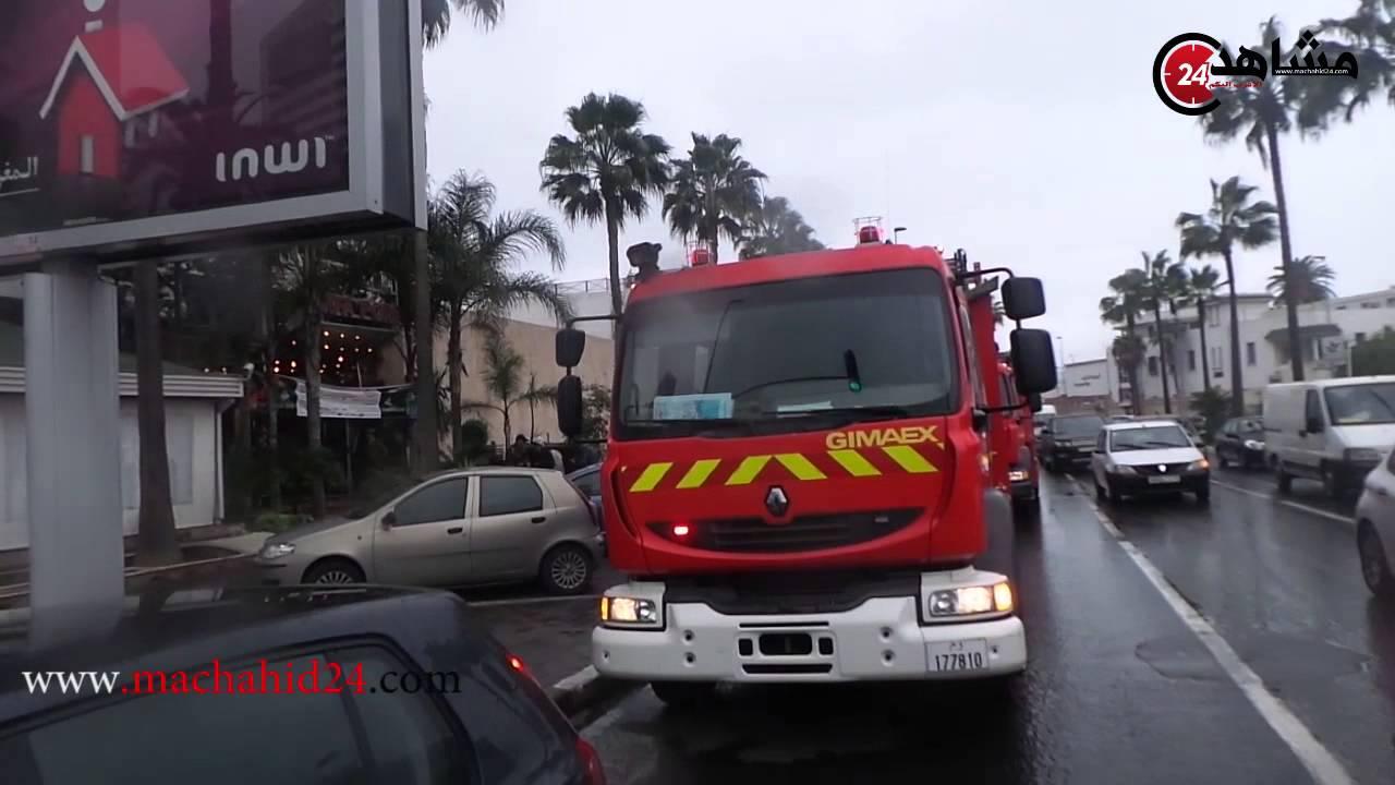 حريق وسط البيضاء يستنفر السلطات ويخلف خسائر مادية