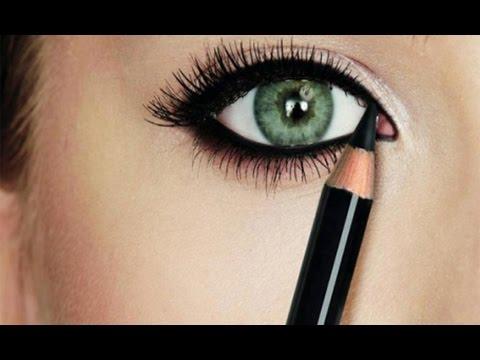 خطوات سهلة لرسم العيون الصغيرة بالأيلاينر