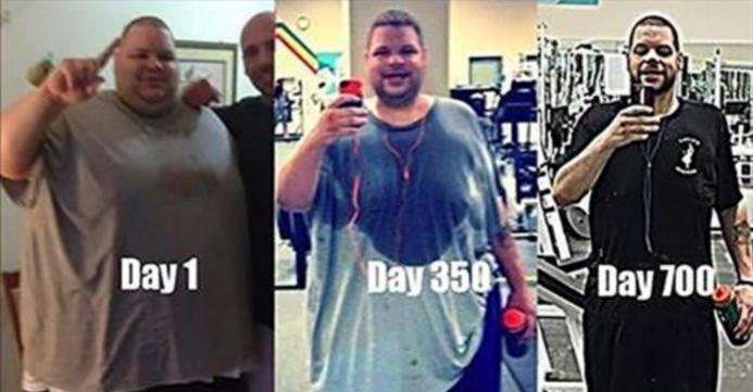 هذا الرجل.. خسر اكثر من 190 كيلوغرام في 23 شهر فقط !!