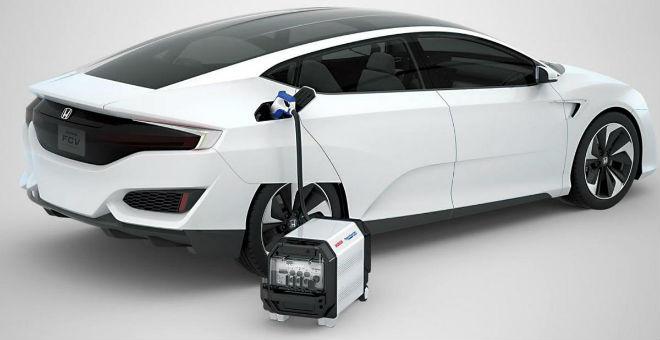 هوندا تطلق سيارتها FCV بوقود الهيدروجين
