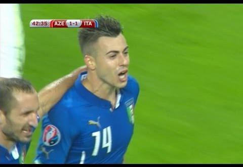 أهداف إيطاليا واذربيجان 3-1