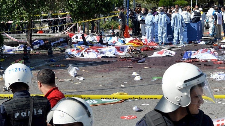 تركيا. ارتفاع عدد ضحايا تفجيري أنقرة إلى 95 قتيلا