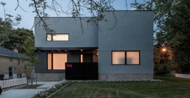 بالصور: منزل مستوحى من الجسم البشري