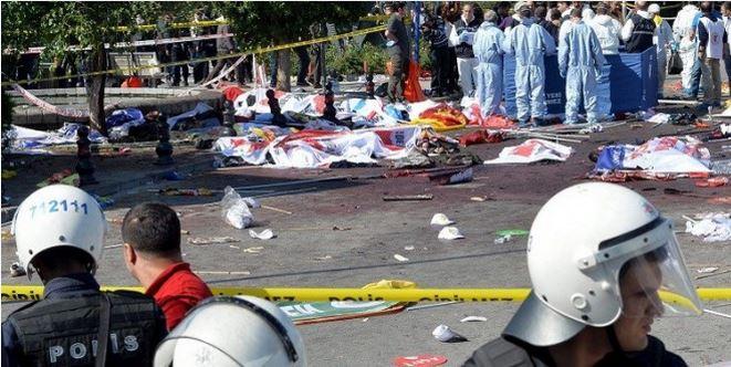 ارتفاع حصيلة تفجيري أنقرة إلى 86 قتيلا ونحو مئتي جريح