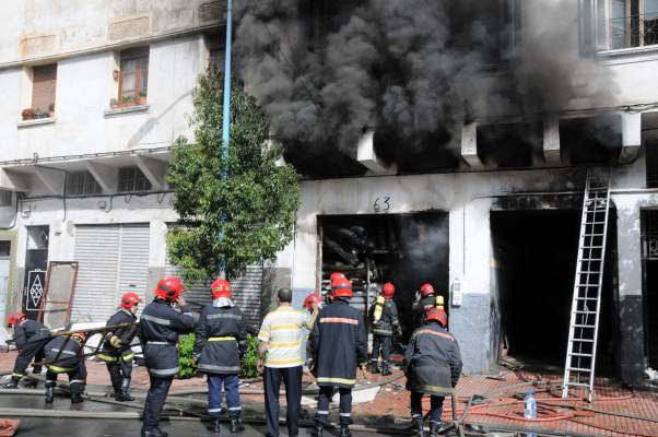 حريق بأرقى أحياء المدينة الحمراء يثير هلع المراكشيين