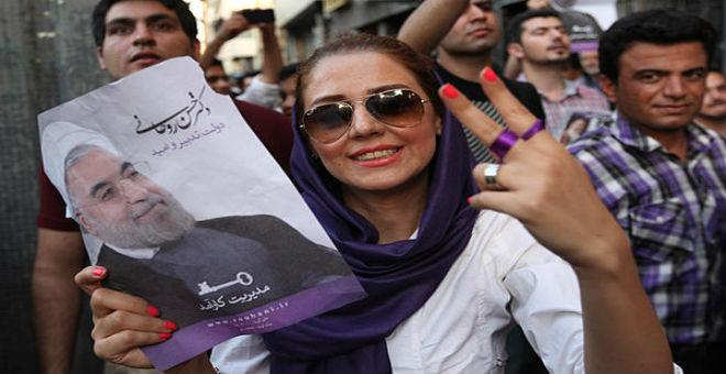 شعبية الرئيس روحاني في ارتفاع بين الإيرانيين