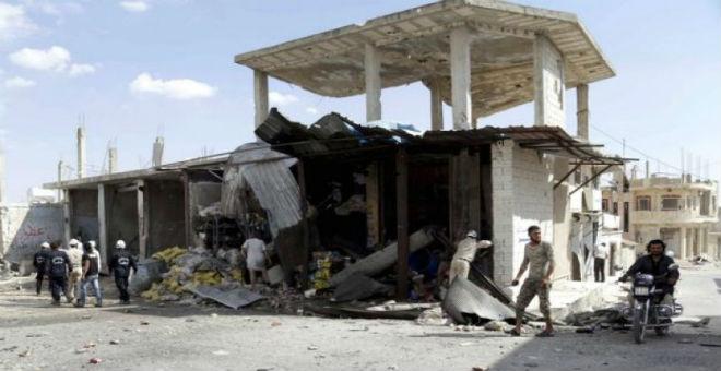 الضربات الروسية في سوريا استهدفت المعارضة وليس