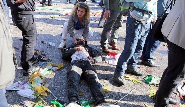 عاجل. ارتفاع عدد قتلى هجوم أنقرة إلى 128 شخصا