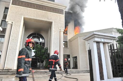 الضحى تتحدث ''رسميا'' عن الحريق..وهذه أبرز خسائرها
