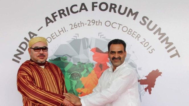 الملك محمد السادس يصل إلى الهند للمشاركة في قمة