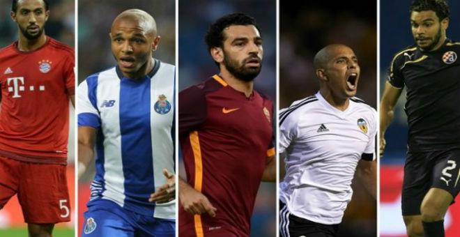 حضور قوي للمغاربة والجزائريين في دوري الأبطال