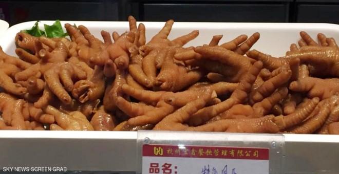 بالصور.. أغرب المأكولات الصينية