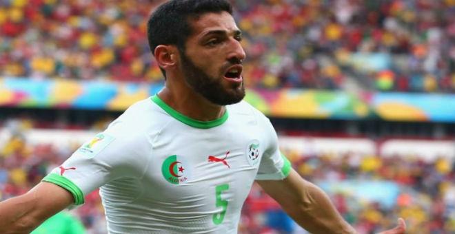 غوركوف يقرر إعادة حليش للمنتخب الجزائري