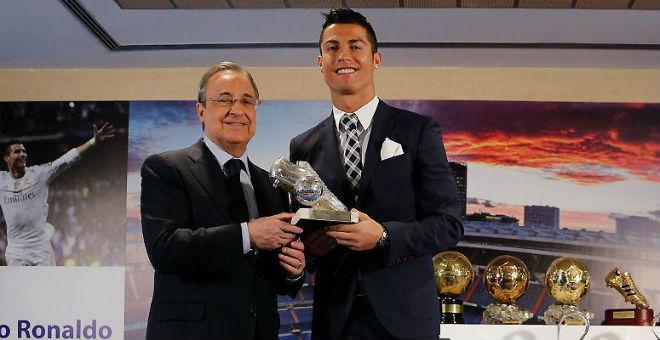رونالدو يحظى بتكريم خاص من ريال مدريد
