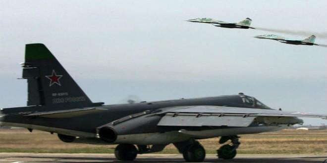طائرات روسية مقاتلة