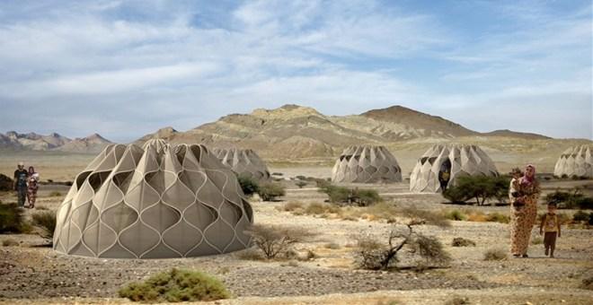 بالصور.. خيمة تجمع الأمطار وتخزّن الطاقة الشمسية
