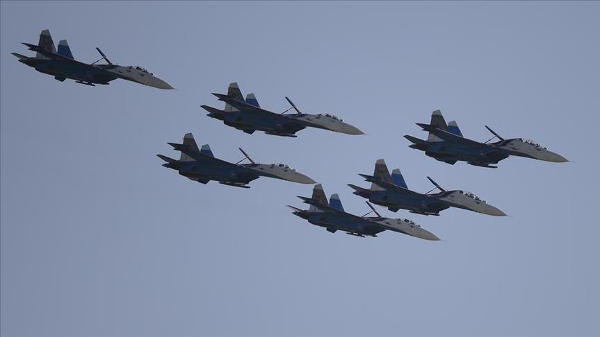 بالفيديو: روسيا تعلن شن غارات ضد 63 هدفا في سوريا