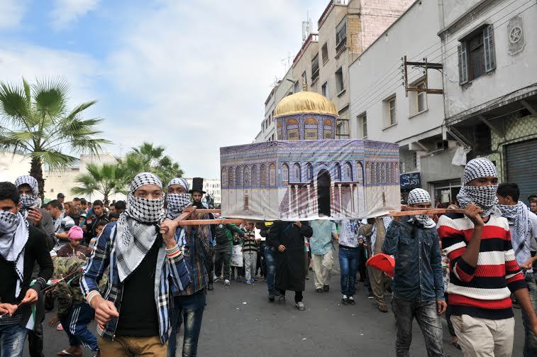 بعد البيضاء.. ساكنة الرباط تخرج في مسيرة حاشدة للتضامن مع فلسطين