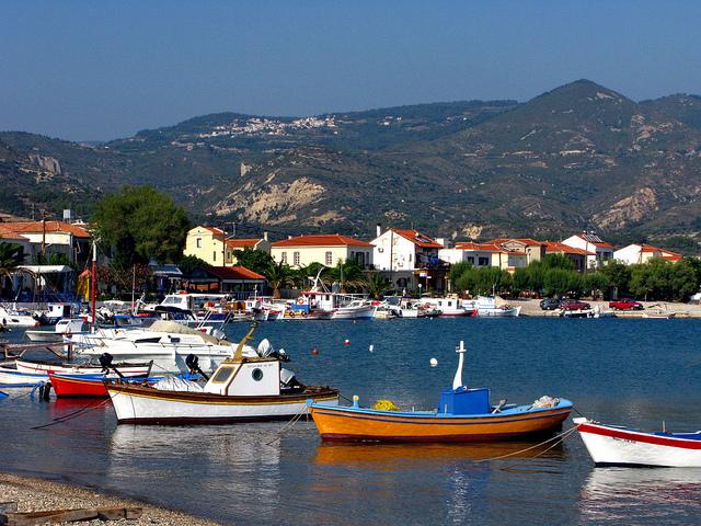 Samos-island